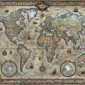 Buy HEYE Retro World (1000 Piece Jigsaw Puzzle) and other great jigsaw puzzles only at Jigsaw Nation