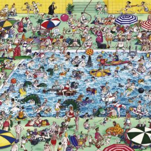 Buy HEYE Cool Down! (1000 Piece Jigsaw Puzzle) and other great jigsaw puzzles only at Jigsaw Nation