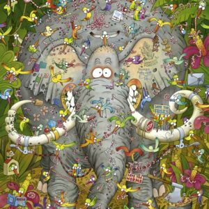 Buy HEYE Elephant's Life (1000 Piece Jigsaw Puzzle) and other great jigsaw puzzles only at Jigsaw Nation