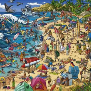 Buy HEYE Seashore (1000 Piece Jigsaw Puzzle) and other great jigsaw puzzles only at Jigsaw Nation