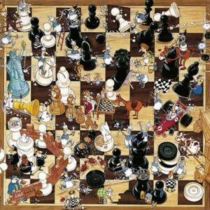 Buy HEYE Black or White (1000 Piece Jigsaw Puzzle) and other great jigsaw puzzles only at Jigsaw Nation
