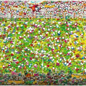 Buy HEYE Crazy World Cup (4000 Piece Jigsaw Puzzle) and other great jigsaw puzzles only at Jigsaw Nation