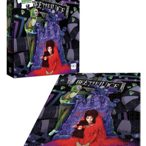 """Buy Beetlejuice """"Graveyard Wedding"""" and other great jigsaw puzzles only at Jigsaw Nation"""