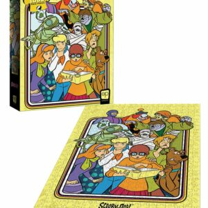 """Buy Scooby-Doo """"Those Meddling Kids!"""" and other great jigsaw puzzles only at Jigsaw Nation"""