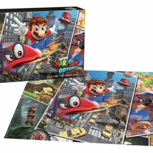 """Buy Super Mario™ Odyssey """"Snapshots"""" and other great jigsaw puzzles only at Jigsaw Nation"""