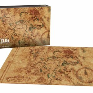 "Buy Zelda: Breath of the Wild ""Hyrule Map"" and other great jigsaw puzzles only at Jigsaw Nation"
